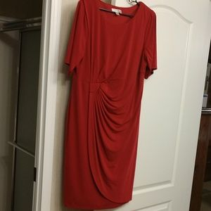 Dress Barn Dresses - Women's Red Cocktail dress